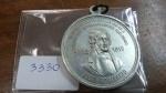3330 – Medalha RARA Republica dos Estados Unidos do Brazil – 1822-1910 em Aluminio JOSÉ BONIFÁCIO