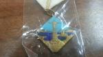 3337 – Medalha – Frequencia a Santa MISSA – Sacre COEUR DE MARIA