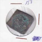 158  Numismática Brasil  Moeda SOLDO  BOTIJA DO RIO FORMOSO
