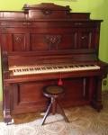 Piano Vertical - Gustav Lehner - Alemão - Lote retirado com agendamento em São Cristóvão.