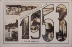 Cartão Postal impresso por Wessel , Rio de janeiro 1953, medindo 9 x 14 cm.