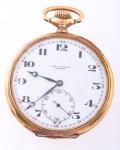 Zenith  Relógio de bolso cronometro em Ouro 18 K, Grand Prix 1900, 50 mm Funcionando com 3 meses de Garantia.