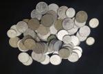 Varias moedas de dez centavos, anos 1970,1975 , 1979 e outras.