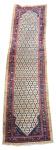 SAMARKAND - Antiga passadeira afegã feita à mão em lã sobre lã. Em perfeito estado, devidamente lavado. Med.: 5,20 x 1,28 cm.