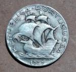 Lote composto por Moeda de Prata - 2,5 Escudos  - 1947 - Portugal