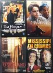 DVD - Lote composto por 4 filmes de Aventura a saber: O Siciliano; Mississipi em Chamas; Um Sonho de Liberdade; Um Homem de Família. Muito bom estado de conservação