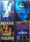 DVD - Lote composto por 4 filmes de Ficção Científica a saber: Avatar; o Passageiro do Futuro; Reação em Cadeia; Traffic. Muito bom estado de conservação.