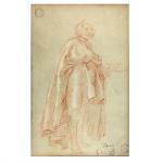 """Tiapolo.""""Camponesa"""". Impressão. Assinado, cid. 45 x 28 cm."""