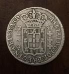 Rara moeda em Prata 160 Réis , D Maria I, Brasil Colonia cunhada em 1787. MBC .