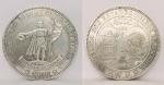Moeda em Prata, de 4000 Réis, do ano de 1900, 16  Raios. Comemorativa do 4º Centenário do Descobrimento do Brasil. Peso total 51 gramas medindo 5 cm de diâmetro.  Esta moeda é a de 16 Raios.