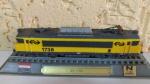 LOCOMOTIVA NS 1700 - HOLANDA Miniatura em ferro e sintéticos - escala 1/160 - conforme imagens fornecidas.