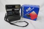 Máquina Fotográfica Polaroid série 600 na Caixa Original.