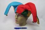 Chapéu de Bobo da Corte em feltro com guizos.