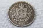 Império - Antiga Moeda de 100 Réis de 1882