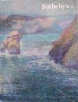 Catálogo Sotheby's em perfeito estado. Catálogo de leilão de obras modernas  e impressionistas realizado em Nova York em maio de 2016. 457 páginas.