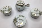 Conjunto de Chá Oriental - porcelana