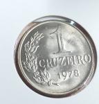 Moeda de 1978 FC 1 Cruzeiro - Peça Muito escassa e tiragem pequena.