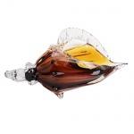 Grande e espetacular concha de Murano com riqueza de cores e perfeição de acabamentos. Medida 17x14,5x23cm.