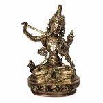 Antiga e bela estatueta Shiva em bronze polido, de origem Indiana. Rico em detalhes e com brilho intenso. Ideograma marcado no fundo.Exemplar possivelmente do séc XIX e em excelente estado de conservação.Dimensões: 22 cm x 15 cm x 10 cm.