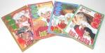 MANGA - QUADRINHO - INUYASHA - Lote contendo 4 mangás / revistas da série Inuyasha da editora JBC, sendo eles os volumes 44, 45, 46 e 47.