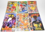 REVISTA - Lote contendo 6 revistas de animes e heróis, dentre elas: Anime Do, Comix Book Shop, Herói, entre outras. Medindo 21cm de altura cada.
