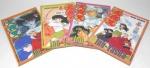 MANGA - QUADRINHO - INUYASHA - Lote contendo 4 mangás / revistas da série Inuyasha da editora JBC, sendo eles os volumes 48, 53, 56 e 57.