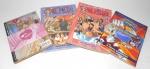 MANGA - QUADRINHO - Lote contendo 4 mangás de diversas séries, sendo eles: 2 One Piece (volumes 4 e 32), Cavaleiros do Zodíaco (O Santo Guerreiro) e Love Junkies (volume 18).