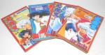 MANGA - QUADRINHO - INUYASHA - Lote contendo 4 mangás / revistas da série Inuyasha da editora JBC, sendo eles os volumes 58, 61, 62 e 64.