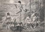 Portinari. Reprodução gráfica off-set -  Mestres do Desenho - PORTINARI - apresentado por Carlos Drumond de Andrade  Ed. Cultrix. 30 x 42 cm.