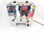 Cafeteira Industrial 6l Café/leite Inox Consercaf Mcl6 - 220v. Reservatórios: 02  dois; Potencia (W): 1700w; Consumo (kW/h): 1,7; Voltagem: 220v; Observações: Apenas um reservatório é destinado para leite; Dimensões: Largura 43cm;  Altura 45,5cm; Profundidade 26cm; Água (L): 20; Café + Leite (L): 3 + 3.