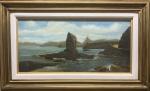 Karl Ernest PAPF (1833-1910) - óleo s/ madeira, medindo: 32 cm x 68 cm e 55 cm x 90 cm (todas as obras estrangeiras é automaticamente considerada atribuída)