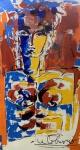 LE CORBUSIER (Attrib.) (1887-1965) - óleo s/ tela, 1,40 m x 80 cm (todas as obras estrangeiras é automaticamente considerada atribuída)