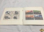 Centenário de la toile Louis Vuitton de 1896 a 1996, com os 8 selos comemorativos.