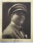 Foto Antiga - Auto retrato do fotógrafo Fitz Gerald  - assinada e datada- 27,5x22