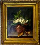 Henrique BERNARDELLI (1858-1936) - óleo s/ tela, medindo: 63 cm x 52 cm e 90 cm x 80 cm (Precisa limpeza e restauro, muito antigo)(COLEÇÃO PARTICULAR  DO RIO DE JANEIRO, ACOMPANHA TRANSFERENCIA DE PROPRIEDADE)