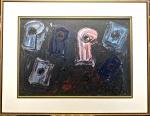 Iberê CAMARGO (1914-1994) - óleo s/ madeira, 55 cm x 78 cm e 80 cm x 1,03 m (coleção particular do Rio de Janeiro)