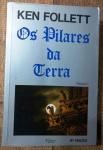 POS PILARES DA TERRA - KEN FOLLETT - 494 pags - No estado