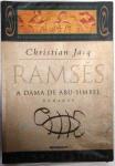 RAMSÉS - A DAMA DE ABU-SIMBEL - CHRISTIAN JACQ -370 Págs - No estado ( k)