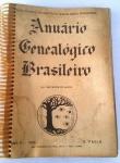Anuário  Geneológico Brasileiro -  412 pgs - No Estado