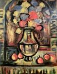 Georges Rouault - (1871-1958) - Óleo sobre tela, assinado no C.I.D. Obra med. 130x100cm. Não pode ser enviado pelos Correios. Todas as obras estrangeiras são vendidas na categoria Atribuído.