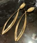 Bijuteria fina - Belo par de brincos, modelo cópia de joia.
