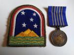 Militaria - Medalha da FAB mais Patch da Campanha do Atlântico Sul - Segunda Guerra Mundial. - 47