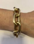 Maravilhosa pulseira ouro 18k-750 fabricacao Seculus  Com 40,9 g ouro