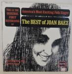 DISCO VINIL - THE BEST OF - JOAN BAEZ  (1976). Capa escrito na capa e disco em muito bom estado (limpesa).