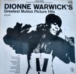 DISCO VINIL - DIONE WAWICK'S (1969) - GREATEST MOTION PICTURE HITS IMPORTADO. Capa e disco em muito bom estado (limpesa).