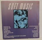 """DISCO VINIL - """"SOFT MUSIC - INTERNACIONAL"""". Capa escrita e disco em bom estado."""