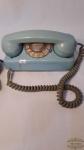 Antigo telefone modelo tijolinho GTE , na cor  azul original. Nao testado
