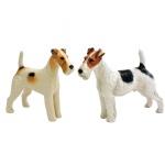 2 cachorros. 14 x 16 cm.