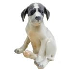 Cachorro Royal Copenhagen. 13 x 11 cm.