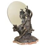 Espelho petit bronze. 66 x 40 cm.